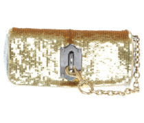 Second Hand Clutch in Gold/Silber
