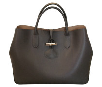 Second Hand  Tasche in Grau