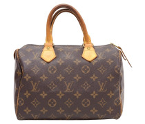 "Second Hand  ""Speedy 25 Monogram Canvas"""