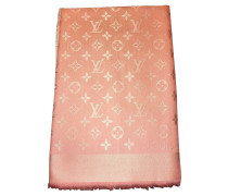Second Hand  Monogram-Tuch in Rosa