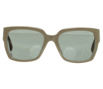 Second Hand Sonnenbrille in Taupe