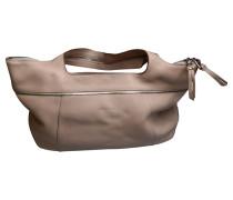 Second Hand Handtasche in Beige