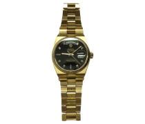 Second Hand Uhr aus Gelbgold