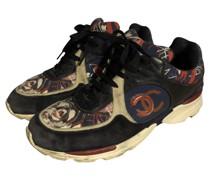 Second Hand Sneakers aus Wildleder in Blau