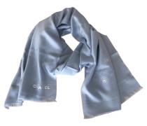 Second Hand Schal/Tuch aus Wolle in Blau