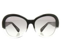 Second Hand Sonnenbrille mit Transparenz