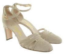 Second Hand Sandaletten in Beige