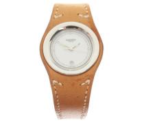 Second Hand  Armbanduhr aus Leder