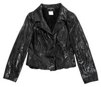 Second Hand Jacke aus Lackleder