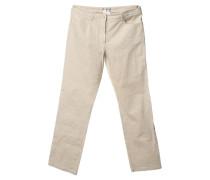 Second Hand Klassische Jeans in Creme