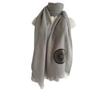 Second Hand Schal/Tuch aus Kaschmir in Grau