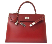 """Second Hand  """"Kelly Bag 35 Sellier Red"""""""