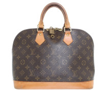 "Second Hand Henkeltasche ""Alma"" Monogram Canvas"