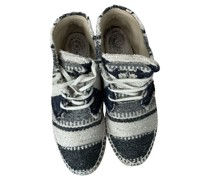 Second Hand Sneakers aus Canvas