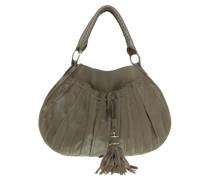 Second Hand  Handtasche im Falten-Design