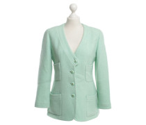 Second Hand  Boucle Blazer in Mint