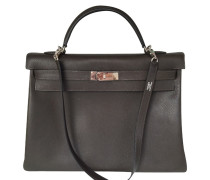 Second Hand Kelly Bag 40 Trekking Leather