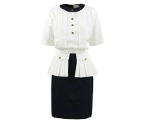 Second Hand Kleid aus Baumwolle in Weiß