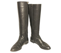 Second Hand  Stiefel in Schwarz
