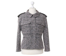 Second Hand Jacke in Bouclé-Optik