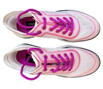 Second Hand Sneakers aus Leder in Rosa / Pink