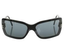Second Hand Sonnenbrille in Schwarz