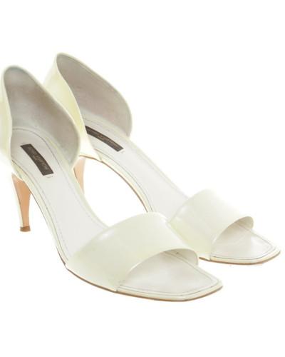 Second Hand  Sandaletten aus Lackleder