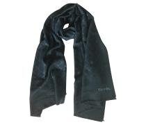 Second Hand Schal / Schal aus schwarzer Wolle