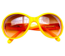 Second Hand Sonnenbrille in Orange