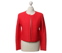 Second Hand Steppjacke in Rot