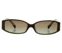Second Hand  Sonnenbrille mit Monogram-Muster