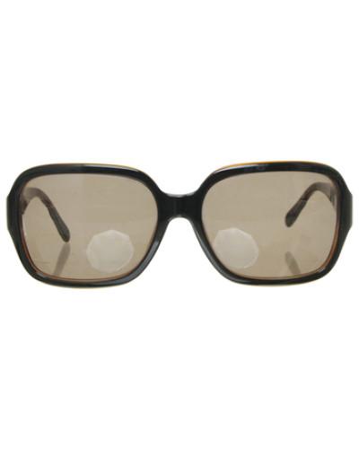 chanel damen second hand sonnenbrille mit logo detail. Black Bedroom Furniture Sets. Home Design Ideas