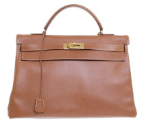 """Second Hand """"Kelly Bag 40 Cognac Epsom Leather"""""""