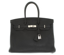"Second Hand  ""Birkin Bag 35"" in Schwarz"