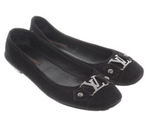 Second Hand  Schwarze Ballerinas aus Wildleder