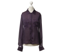 Second Hand Bluse in Violett