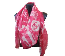 Second Hand Schal/Tuch aus Kaschmir in Rot