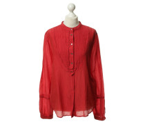 Second Hand Rote Sommerbluse