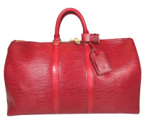 "Second Hand  ""Keepall 45 Epi Leder"" in Rot"