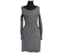 Second Hand Kleid in Grau