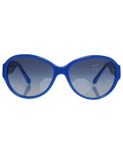 chanel damen second hand sonnenbrille in blau reduziert. Black Bedroom Furniture Sets. Home Design Ideas