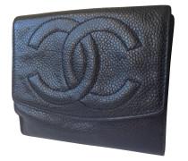 Second Hand Geldbörse aus Kaviarleder