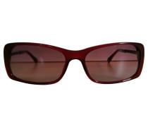 Second Hand Sonnenbrille mit geflochtenen Bügeln