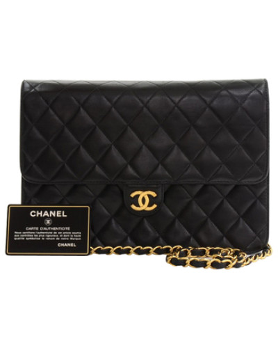 chanel damen second hand flap bag reduziert. Black Bedroom Furniture Sets. Home Design Ideas