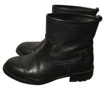 Second Hand  Boots in Schwarz