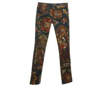 Second Hand  Jeans mit Motiven