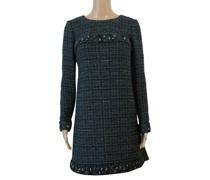Second Hand Kleid aus Wolle in Grün