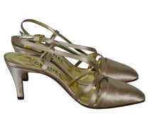 Second Hand Satin-Slingbacks