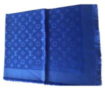 Second Hand Monogramm-Tuch in Blau