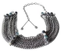Second Hand Halskette mit Schmucksteinen